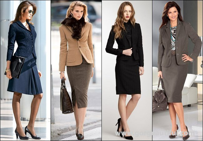 Properly Fitted Women's Suits